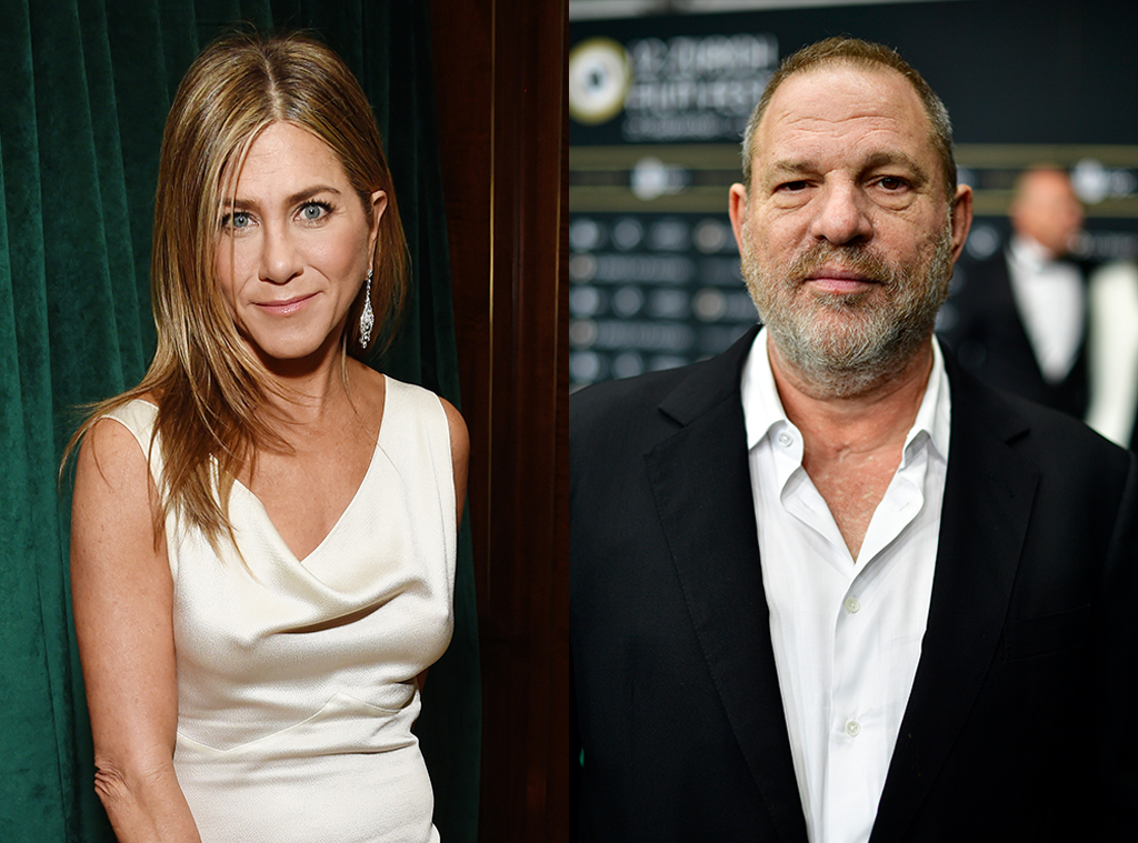 Jennifer Aniston, Harvey Weinstein